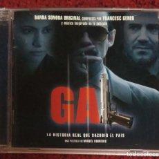 CDs de Música: B.S.O. GAL (MUSICA DE FRANCESC GENER) CD 2006 - LITO VITALE - WIM MERTENS. Lote 203789075