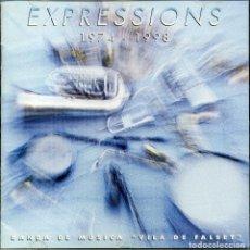 CDs de Música: EXPRESSIONS 1974 - 1998. Lote 203789518