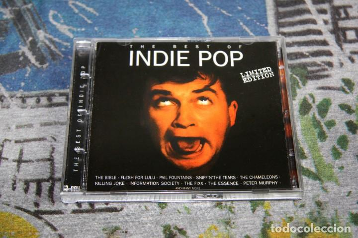THE BEST OF INDIE POP + BONUS TRACKS - LIMITED EDITION - 2 CD'S - MAX MUSIC - NMWN 1736 CDTV (Música - CD's New age)