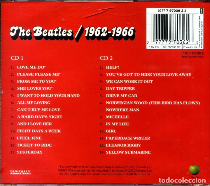 CDs de Música: THE BEATLES 1962-1966 - Foto 2 - 203816082