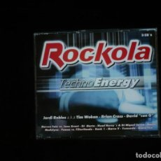 CDs de Musique: ROCKOLA TECHNO ENERGY - 3 CD'S COMO NUEVOS. Lote 203825993