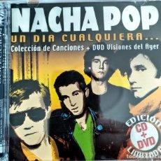 CDs de Musique: NACHA POP-UN DIA CUALQUIERA (CD+DVD). Lote 203864003