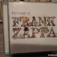 CDs de Música: THE BEST OF FRANK ZAPPA. Lote 203869470