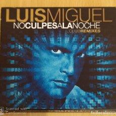 CDs de Música: LUIS MIGUEL (NO CULPES A LA NOCHE - CLUB REMIXES) CD 2009. Lote 203890353