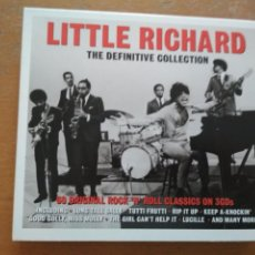 CDs de Música: LITTLE RICHARD THE DEFINITIVE COLLECTION 3XCDS ESTUCHE. Lote 203905371