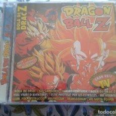 CDs de Música: CD NUEVO PRECINTADO DRAGON BALL Z BOLA DE DRAC 14 TEMAS MUSICALES MANGA CON CROMOS INCLUIDOS. Lote 203940213