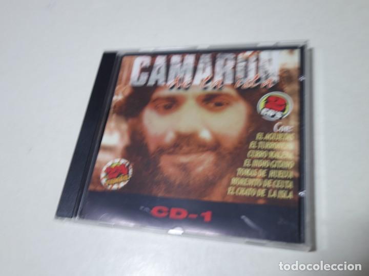 CD CAMARÓN DE LA ISLA. 2 CDS. 24 TEMAS. (Música - CD's Otros Estilos)