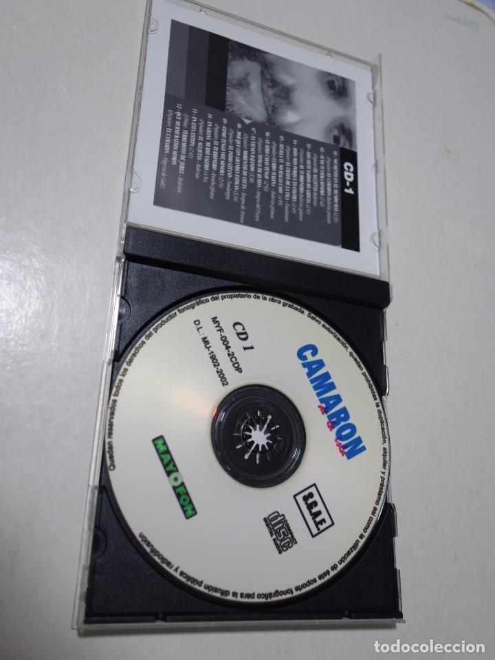 CDs de Música: CD CAMARÓN DE LA ISLA. 2 CDS. 24 TEMAS. - Foto 2 - 203950427