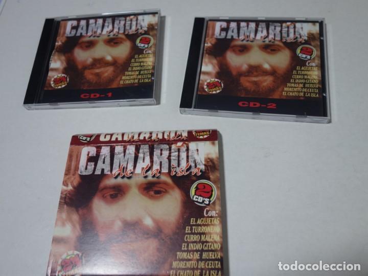 CDs de Música: CD CAMARÓN DE LA ISLA. 2 CDS. 24 TEMAS. - Foto 4 - 203950427