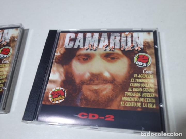 CDs de Música: CD CAMARÓN DE LA ISLA. 2 CDS. 24 TEMAS. - Foto 5 - 203950427