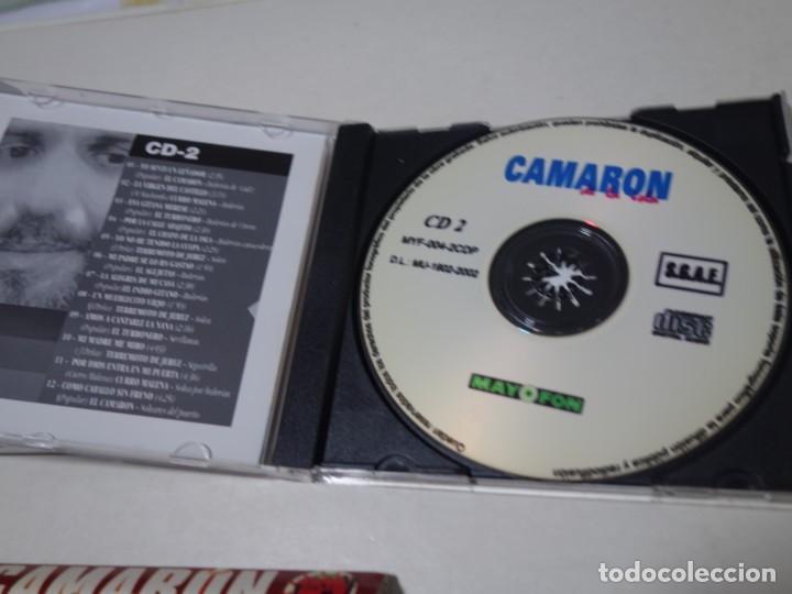 CDs de Música: CD CAMARÓN DE LA ISLA. 2 CDS. 24 TEMAS. - Foto 6 - 203950427