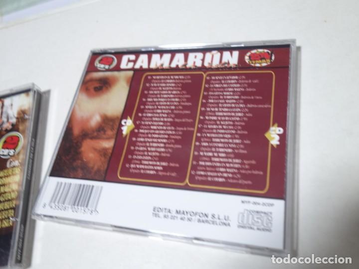 CDs de Música: CD CAMARÓN DE LA ISLA. 2 CDS. 24 TEMAS. - Foto 7 - 203950427