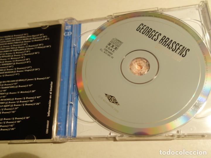 CDs de Música: CD GEORGES BRASSENS. 2 CDS. 32 TEMAS. - Foto 2 - 203951478
