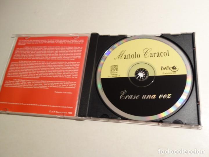 CDs de Música: 2 CD MANOLO CARACOL. TODAS LOS MEJORES TIENTOS FANDANGOS ZAMBRA FARRUCA MALVA LOCA AL NIÑA DE FUEGO - Foto 3 - 203952175
