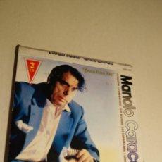 CDs de Música: 2 CD MANOLO CARACOL. TODAS LOS MEJORES TIENTOS FANDANGOS ZAMBRA FARRUCA MALVA LOCA AL NIÑA DE FUEGO. Lote 203952175