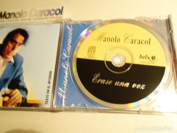 CDs de Música: 2 CD MANOLO CARACOL. TODAS LOS MEJORES TIENTOS FANDANGOS ZAMBRA FARRUCA MALVA LOCA AL NIÑA DE FUEGO - Foto 6 - 203952175