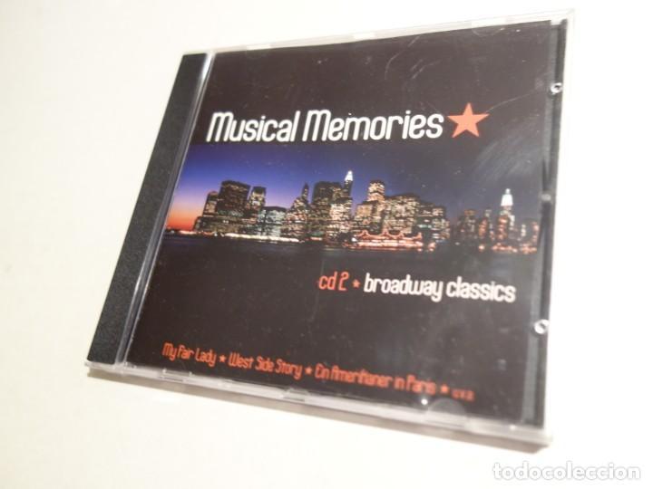 3 CD. MUSICAL MEMORIES. CD1 MODERN MUSICAL HITS. CD2 BROADWAY CLASSICS. CD3 MUSICAL LOVE SONGS (Música - CD's Otros Estilos)
