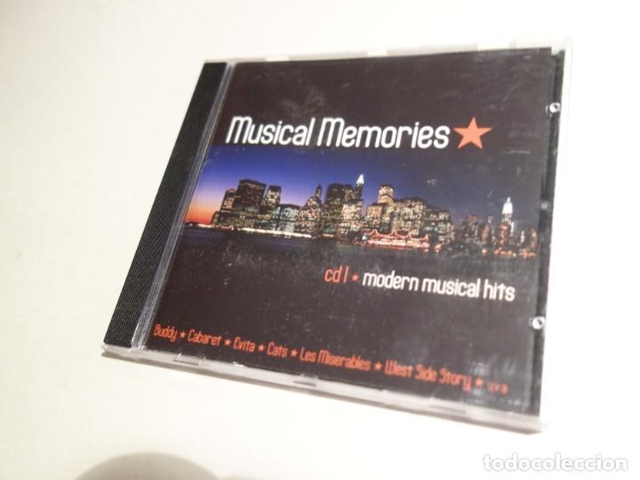 CDs de Música: 3 CD. MUSICAL MEMORIES. CD1 MODERN MUSICAL HITS. CD2 BROADWAY CLASSICS. CD3 MUSICAL LOVE SONGS - Foto 4 - 203952807