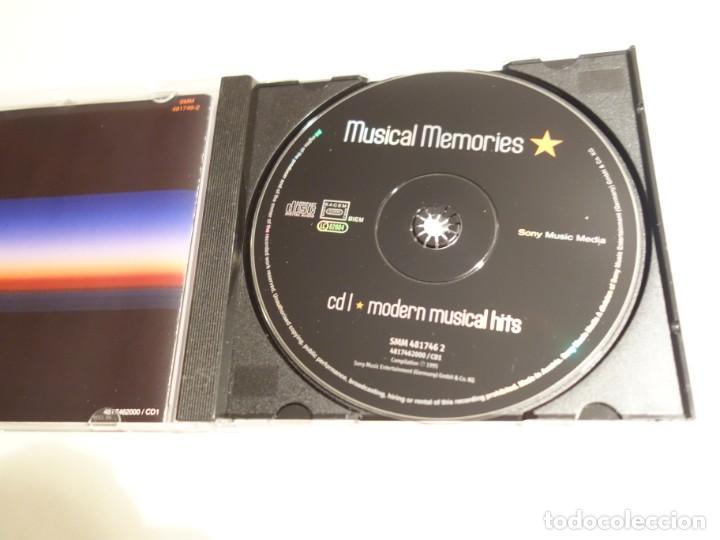 CDs de Música: 3 CD. MUSICAL MEMORIES. CD1 MODERN MUSICAL HITS. CD2 BROADWAY CLASSICS. CD3 MUSICAL LOVE SONGS - Foto 5 - 203952807