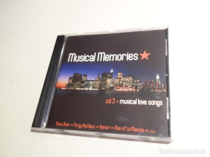 CDs de Música: 3 CD. MUSICAL MEMORIES. CD1 MODERN MUSICAL HITS. CD2 BROADWAY CLASSICS. CD3 MUSICAL LOVE SONGS - Foto 7 - 203952807
