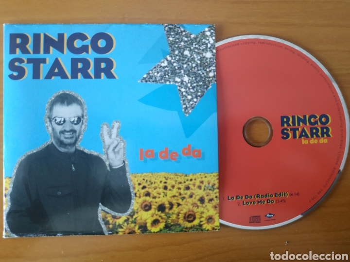 BEATLES RINGO STARR CD SINGLE LA DE LA . RARO (Música - CD's Rock)