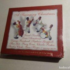 CDs de Música: 2 CD A SWINGING CHRISTMAS. DEJAVU RETRO GOLD COLLECTION. NUEVO PRECINTADO.. Lote 203953468