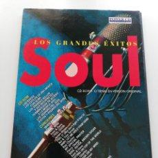 CDs de Música: SOUL. GRANDES ÉXITOS. CD - ROM + 12 TEMAS EN VERSIÓN ORIGINAL. Lote 203974240