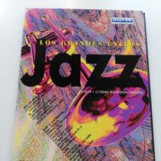 CDs de Música: JAZZ. GRANDES ÉXITOS. CD - ROM + 12 TEMAS EN VERSIÓN ORIGINAL. Lote 203974428