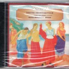 CDs de Música: SHOSTAKOVICH: MÚSICA PARA ÓRGANO. Lote 204000888