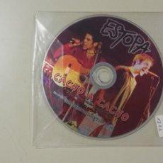 CD di Musica: 0520- ESTOPA CACHO A CACHO CD PROMO. Lote 204011717