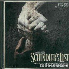 CDs de Música: BANDA SONORA LA LISTA DE SCHLINDER. Lote 204071810