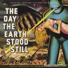 CDs de Música: THE DAY THE EARTH STOOD STILL / BERNARD HERRMANN CD BSO - LA.LA LAND. Lote 204096035