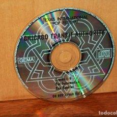 CDs de Música: TEXAS INTERNATIONAL POP FESTIVAL - CHICAGO TRANSIT AUTHORITY - SOLO CD SIN CARATULAS. Lote 204131685