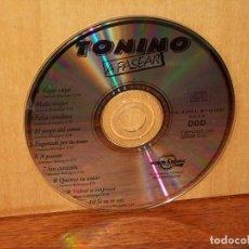 CDs de Música: TONINO - A PASEAR - SOLO CD SIN CARATULA, NI CAJA - COMO NUEVO. Lote 204132336