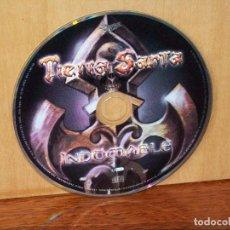 CDs de Música: TIERRA SANTA - INDOMABLE - SOLO CD SIN CARATULAS, NI CAJA. Lote 204136207