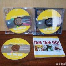 CDs de Música: TAM TAM GO - FUNDAMENTALES TRIPLE DISCO SIN CARATULAS. Lote 204136532