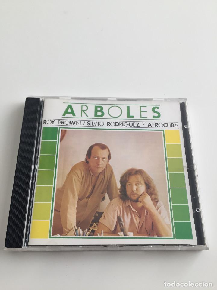 SILVIO RODRIGUEZ - ARBOLES - CON ROY BROWN Y AFROCUBA - OJALA RECORDS - 1987 (Música - CD's Latina)
