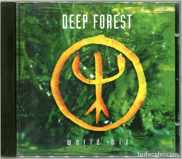 DEEP FOREST ‎– WORLD MIX - CD EUROPE 1994 - COLUMBIA ‎COL 476589-2 (Música - CD's World Music)