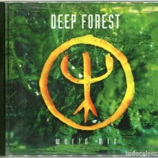 CDs de Música: DEEP FOREST ‎– WORLD MIX - CD EUROPE 1994 - COLUMBIA ‎COL 476589-2. Lote 204213848