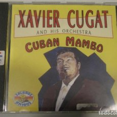 CDs de Música: XAVIER CUGAT AND HIS OCHESTRA - CUBAN MAMBO CD. Lote 204236226