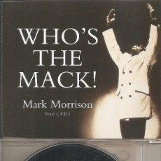 CDs de Música: MARK MORRISON - WHO'S THE MACK (FOUR VERSIONS) (CDSINGLE CAJA, WARNER MUSIC 1997). Lote 204316700