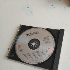 CDs de Música: G-2 CD MUSICA ARTE Y COMPAS MUJER DE SUEÑO FALTA PORTADA ESTA CD Y CONTRAPORTADA. Lote 204394547