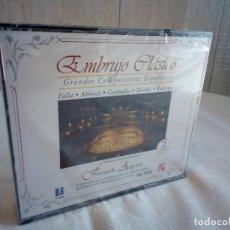 CDs de Música: 5-EMBRUJO CLASICO, GRANDES COMPOSITORES ESPAÑOLES, 2 CDS, PRECINTADO. Lote 204407247