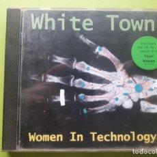 CDs de Música: WHITE TOWN - WOMEN IN TECHNOLOGY - 1997 - COMPRA MÍNIMA 3 EUROS. Lote 204419745