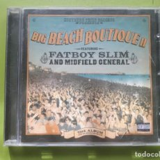 CDs de Música: BIG BEACH BOUTIQUE II FEATURING FATBOY SLIM AND MIDFIELD GENERAL - 2002 - COMPRA MÍNIMA 3 EUROS. Lote 204426752
