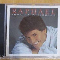 CDs de Música: RAPHAEL (MARAVILLOSO CORAZON MARAVILLOSO) CD 1989 EDICIÓN USA. Lote 204428443