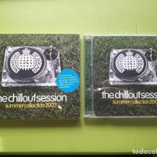 CDs de Música: THE CHILLOUT SESSIONS - SUMMER COLLECTION 2003 - DOBLE CD - COMPRA MÍNIMA 3 EUROS. Lote 204431062