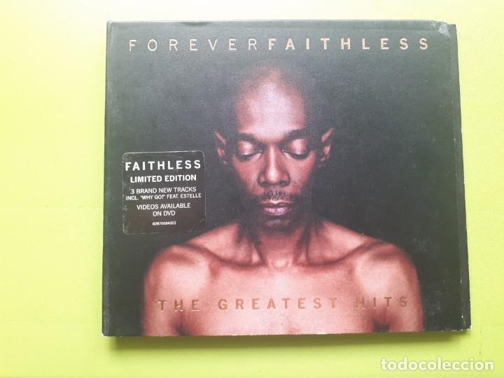 FAITHLESS - FOREVER - THE GREATEST HITS - DIGIPACK - 2005 - COMPRA MÍNIMA 3 EUROS (Música - CD's Techno)