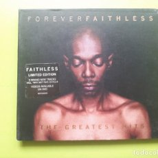 CDs de Música: FAITHLESS - FOREVER - THE GREATEST HITS - DIGIPACK - 2005 - COMPRA MÍNIMA 3 EUROS. Lote 204432845