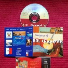 CDs de Música: BILL CHAMPLIN : THROUGH IT ALL; CD AOR WEST COAST 1994.. Lote 186278627